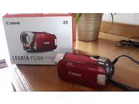 Video camera Canon Legria FS200