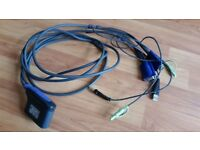 Aten CS62U 2-Port USB VGA/Audio Cable KVM Switch (1.8m) CS62UZ-AT