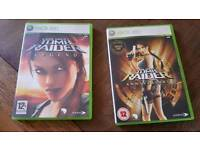 Xbox Tombraider games