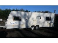 BAILEY TWIN AXLE FIXED BED 6 BERTH TOURING CARAVAN 2009