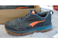 Onemix Men's Air Running Shoes Trainers SIZE 11 CHARCOAL GREY - Worn 5 times- £35 ono
