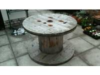 Large Wooden Cable Reel For Sale
