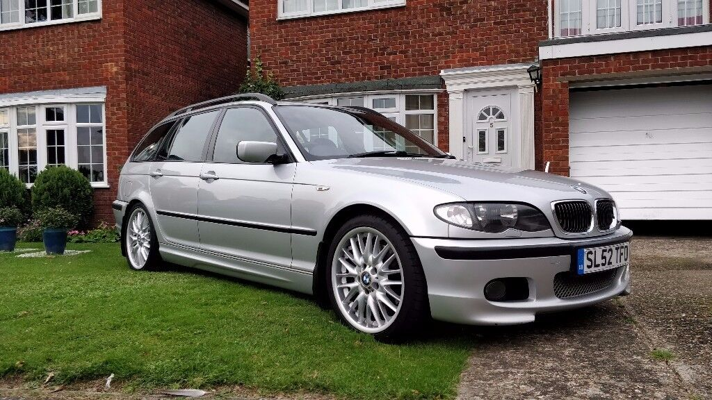 Bmw 330i M Sport Touring Auto 2002 1 Year Mot Estate F S H