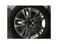 FORD S-MAX 2010-2015 ALLOY WHEEL R16 WITH 5.8 MM TYRE BT11-1