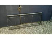 Vintage iron railings