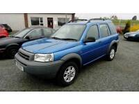 01 Landrover Freelander AUTO 2.5 5 Door MOT DEC 18 Only 71000Mls Can be viewed anytime