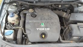 skoda octavia engine only