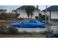 Subaru turbo swap