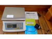 Adam weighing scales, certified for trade, up to max 3kg
