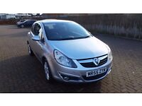 VAUXHALL CORSA 08 1.2 SXI SILVER GREY FULL YEARS MOT 59000 MILES FANTASTIC CONDITION GLASGOW QUICK