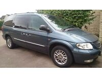 2001 Chrysler Grand Voyager CRD Limited 7 seats/seater
