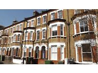 Large 3 double bedroom 2 bathroom split level period apartment close to Vauxhall station