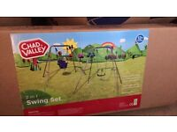 Chad valley 2 in 1 swing set
