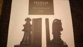Brand new Chess bookends