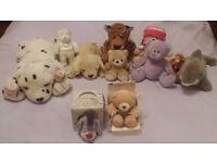 Cuddly/Soft Toy Bundle - 17 Items