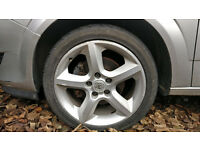 "VAUXHALL PENTA 17"" ALLOY WHEELS 5X110 FOR ASTRA, VECTRA, SAAB, ZAFIRA, SIGNUM, CHEVROLET"