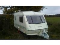 2 Berth Touring Caravan Elddis 1994 with motor mover