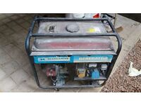 GENERATOR FOR SALE STARTS FIRST TIME EVERY TIME 2,800W