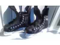 ice hockey boots Bauer lightspeed pro uk size 6.5 no laces good condition