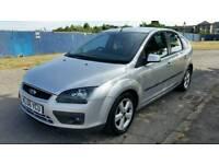 2006/56 Ford Focus 1.6. 5dr. Low 65,000 miles. Full 12 Month MOT. civic megane almera