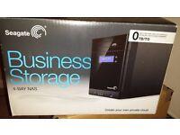 SEAGATE 4TB (2 X 2TB) 4-BAY BUSINESS STORAGE NAS