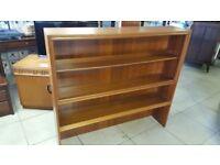 Mid Century Bookcase / Shelving Display Unit