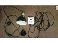 Heat Thermostat, Reflector and Heat Bulb