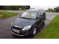 SKODA ROOMSTER 1.6 SCOUT TDI CR 2013,Alloys,Air Con,1 Owner,Privacy Glass,Full Service History