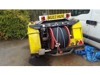 Harben drain jetter 4000psi works well but I am changing too van pack