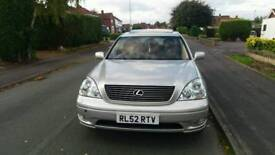 **LEXUS LS430** **FULLY LOADED** **CAMBELT DONE AT 125K**