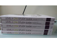 CFA Level II, Wiley Efficient Learning Study Guide. Volume 1-5 2017 edition