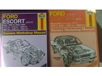 2 work shop manuals