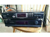 Phillips cd player and Ariston tuner
