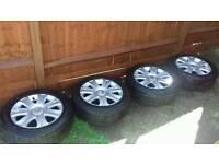 Citroen C4 alloy wheels 4 stud