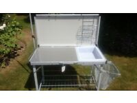 FOLDING KITCHEN COOKING UNIT - JUST KAMPERS - NEW