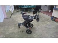 Out 'N' About 360 buggy with carry cot