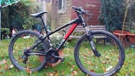 Saracen adults mountain bike