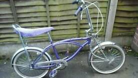 Retro bratz lowrider chopper bike