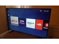 HISENSE 49-inch ULTRA UHD 4K HDR SUPER Smart LED TV-49M3000,built in Wifi,Freeview & FREESAT HD