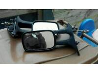 Vw caddy van wing mirrors ( both sides available)