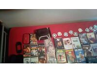 psp bundle and louds of psp games and dvds