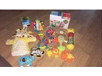 Mixtures babies toys