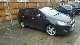 Mitsubishi Grandis,7S,1.9D, C/L, E/W, Alarm, CD Radio,Leather, Great condition, Black, 175,000 miles