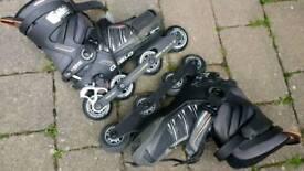 Inline oxelo roller skates uk 10 eu44