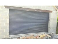 farm shed and garage roller doors, manual or auto, galv or colour