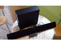 Sony HT-CT370 2.1 Channel 300W Sound Bar Wireless Subwoofer Bluetooth NFC