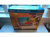 Fellowes pulsar 300 office comb binder