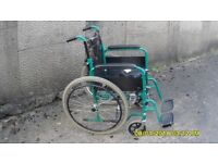 SELF PROPELLED WHEECONDITIONLCHAIR COMPLETE VERY CLEAN