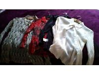 4 ladies blouses, all good quality and in a clean condtion. Size 8 to 10