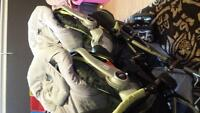 double stroller/car seat combo/baby seat covers
